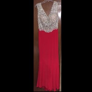 Dresses & Skirts - Red jasz couture size 2 dress